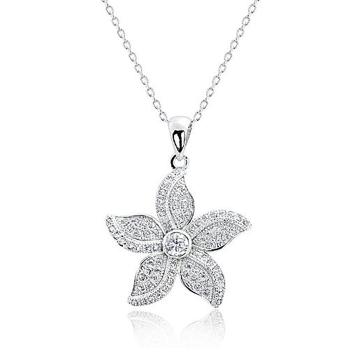 Beautiful Bauhinia Necklace