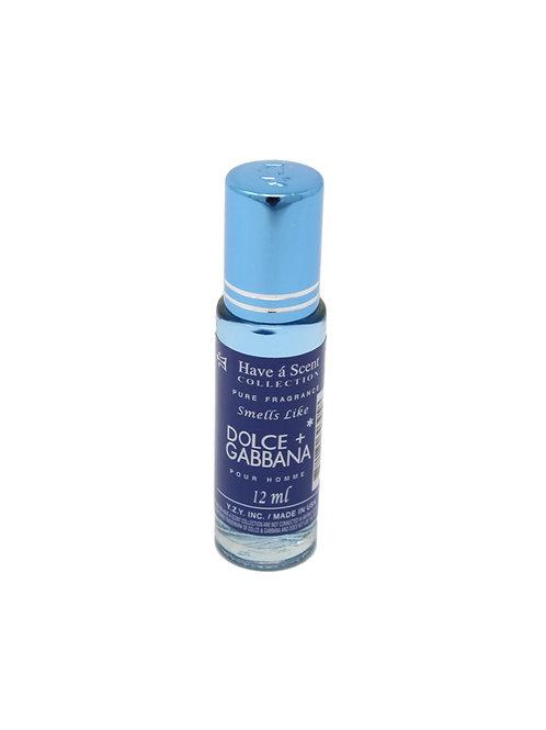 D & G Light Blue 12ml Oil - Men