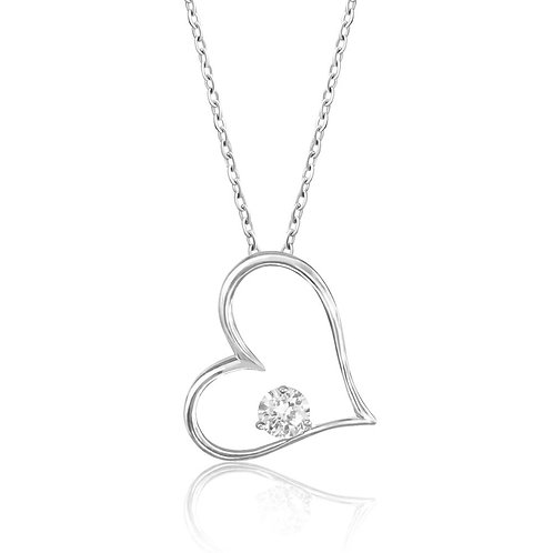 Lovely Big Heart Necklace