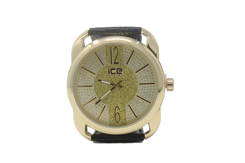 Ice Master Micropave Watch - Gold