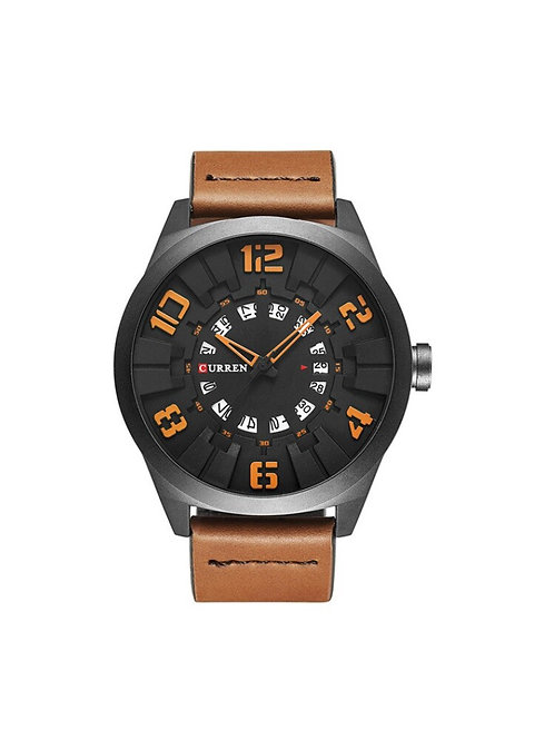 Curren Dial - Black/Orange