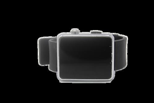 LED Sports Watch - Black, Silver