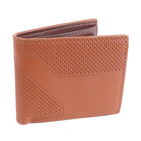 LB Dimension Bi-Fold Men's Wallet - Brown
