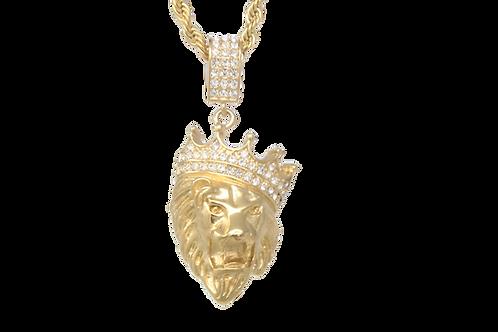 Lion King w / Chain - Gold