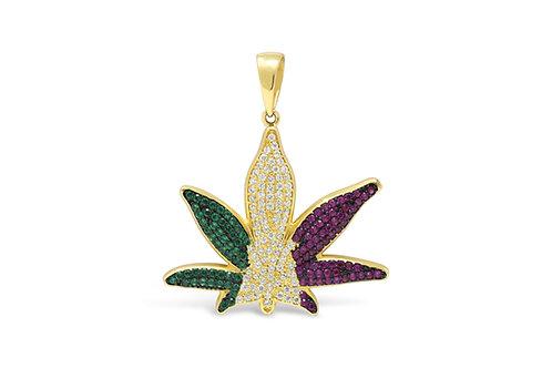 Herb Leaf - Gold