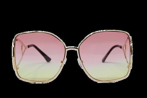 Iris - Pink, Yellow
