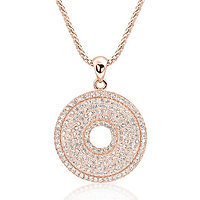 Perfect Circle Necklace - Rose Gold