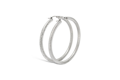 Stainless Steel Hoops - 4x57mm