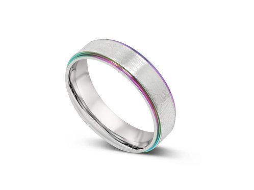 Rainbow Edge Ring