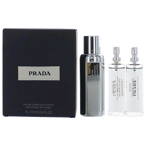 Amber Pour Homme by Prada - Travel Set