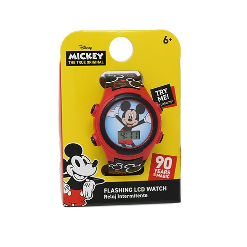 Disney Mickey Mouse Flashing LCD Digital Watch