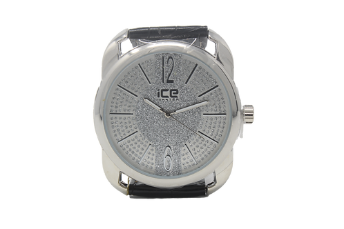 Ice Master Micropave Watch - Silver