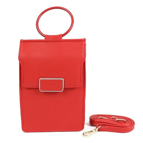 Ladies Wallet Bag - Red