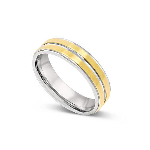 Stepped Edge Ring