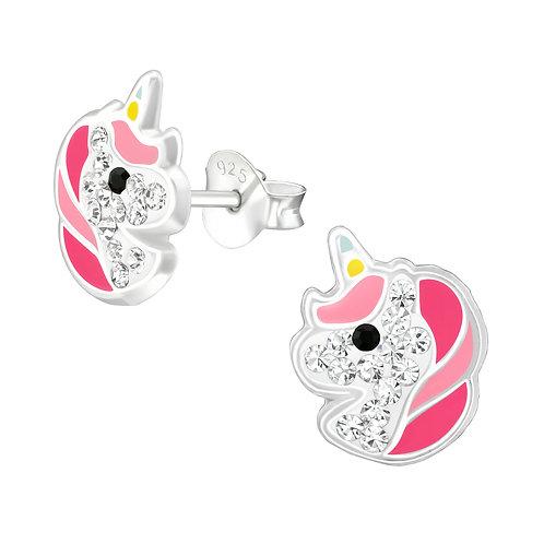 Magical Unicorn Earrings - Pink