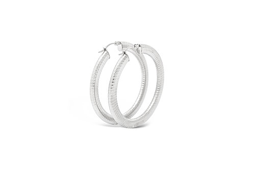 Stainless Steel Hoops - 4x50mm