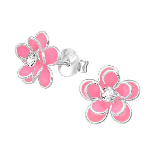 Pink Epoxy Flower