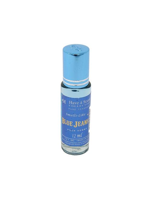 Versace Blue Jeans 12ml Oil - Men
