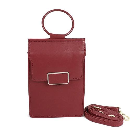 Ladies Wallet Bag - Burgundy