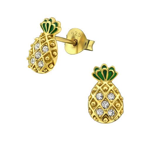 Bahamas Pineapple Earrings