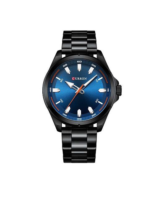 Curren Fulgent Watch - Black