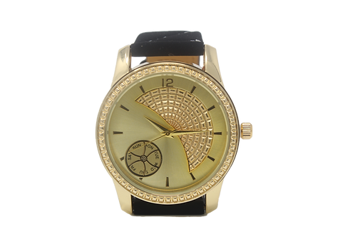 Sundial Watch - Gold