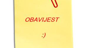 OBAVIJEST