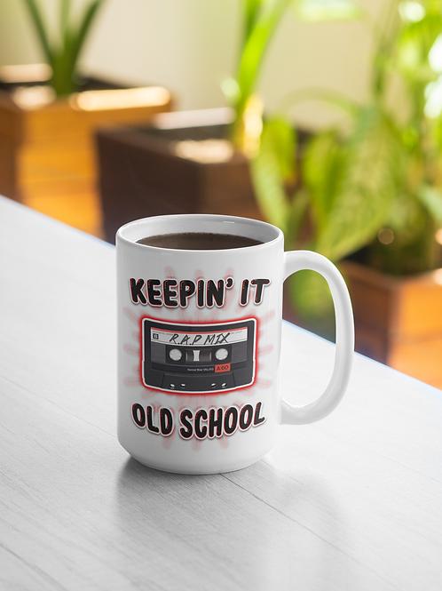 Keepin' It Old School Mug