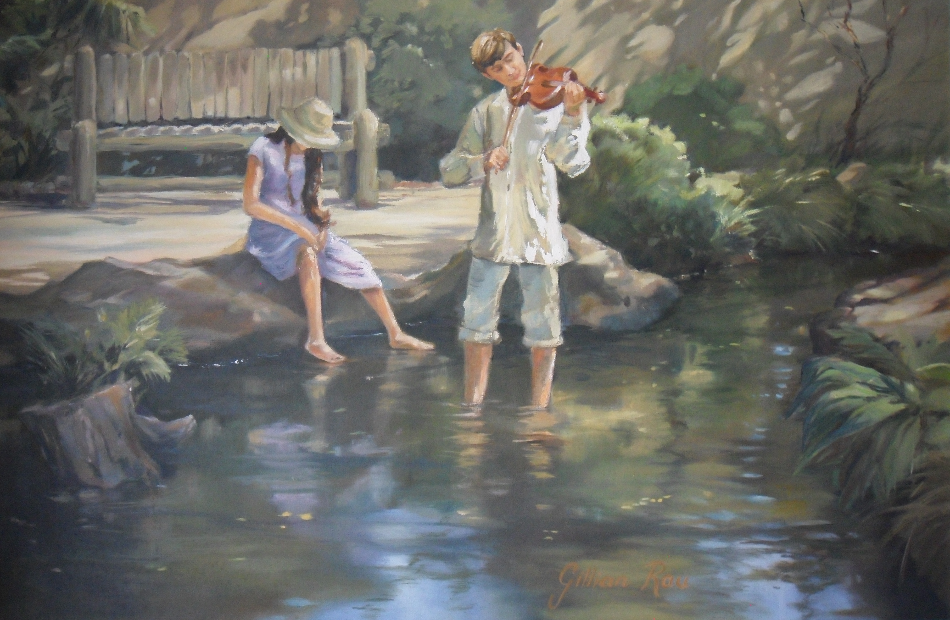 Music at the Pond