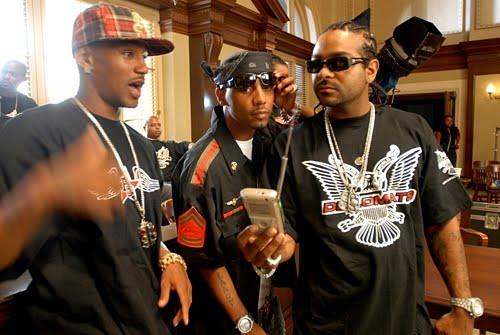 Dipset Had A Gang-Gang Reunion At The NY Knicks Game