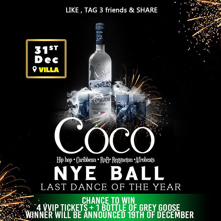 Coco Nye Ball | the Last Dance