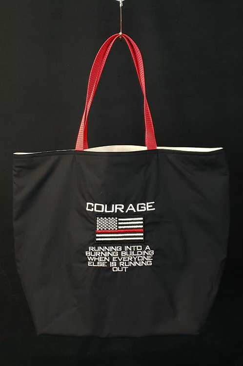 Courage Reusable Gusseted Market Bag