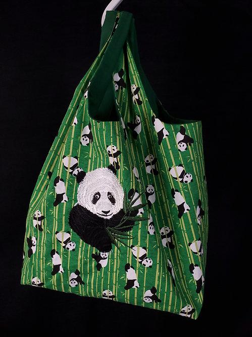 Panda Reusable Shopping Bag