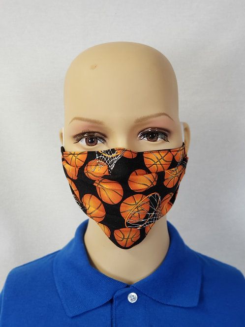 Basketballs Cloth Face Covering