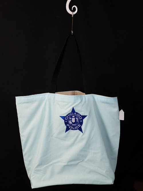 Chicago PD Reusable Gusseted Market Bag