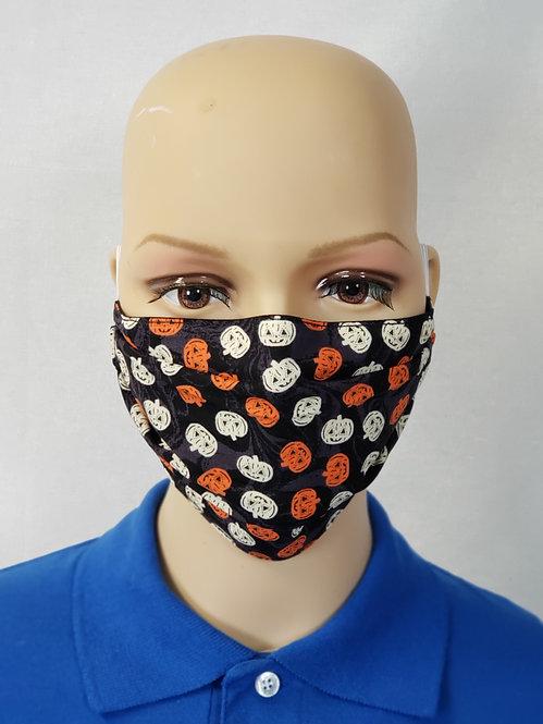 Tiny Jack-O-Lanterns Cloth Face Covering