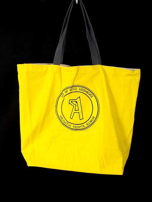 Arlington Heights Reusable Gusseted Market Bag