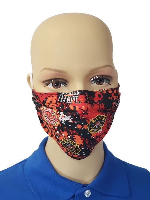 Fire Dept. Cloth Face Covering