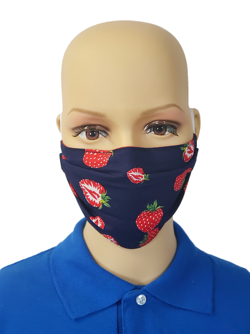 Strawberries Cloth Face Covering