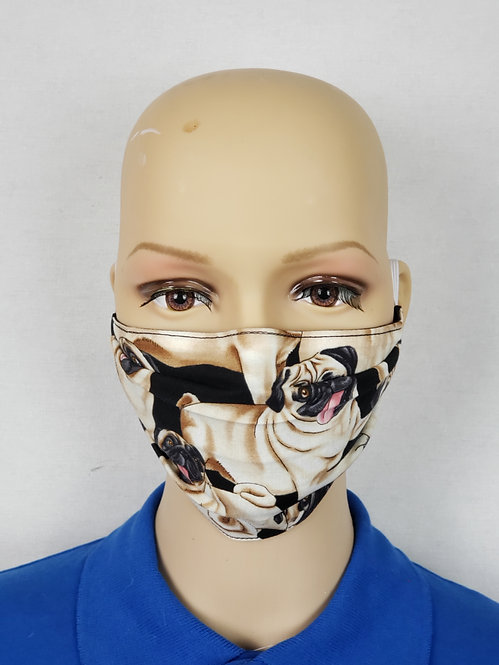 Pugs Cloth Face Covering