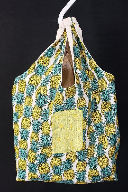 Pineapple & Sponge Reusable Shopping Bag