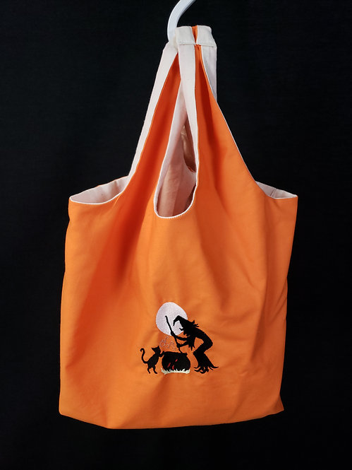 Brewing Witch Reusable Shopping Bag