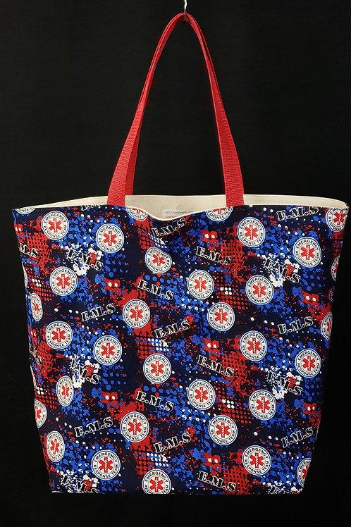 EMS Reusable Guesseted Market Bag