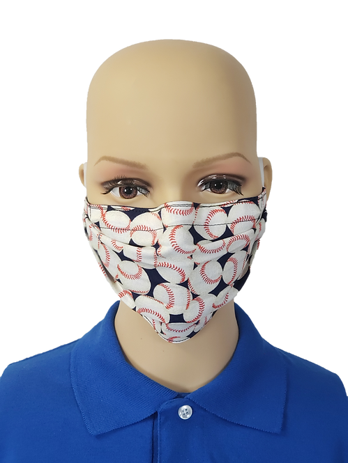 Baseballs Cloth Face Covering