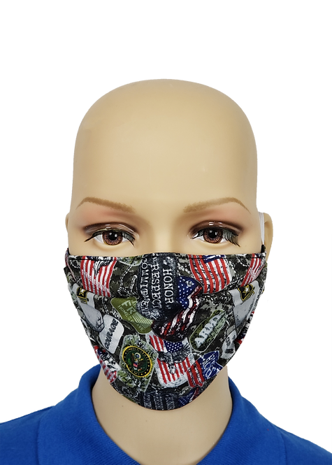 Army, Navy or USAF Cloth Face Covering