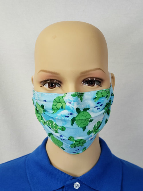Turtles Cloth Face Covering