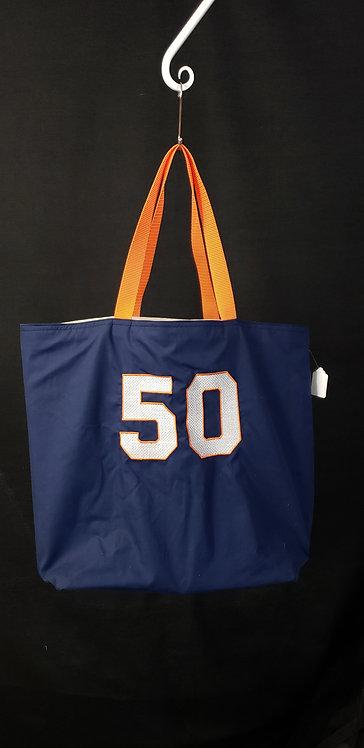 Number 50 Reusable Gusseted Market Bag