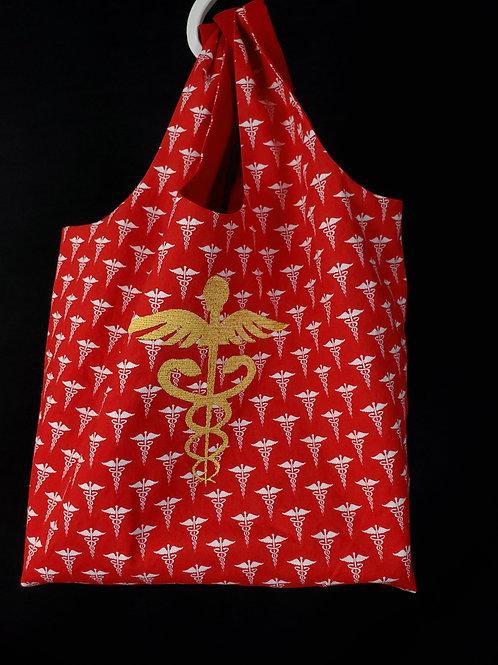 Caduceus Reusable Shopping Bag