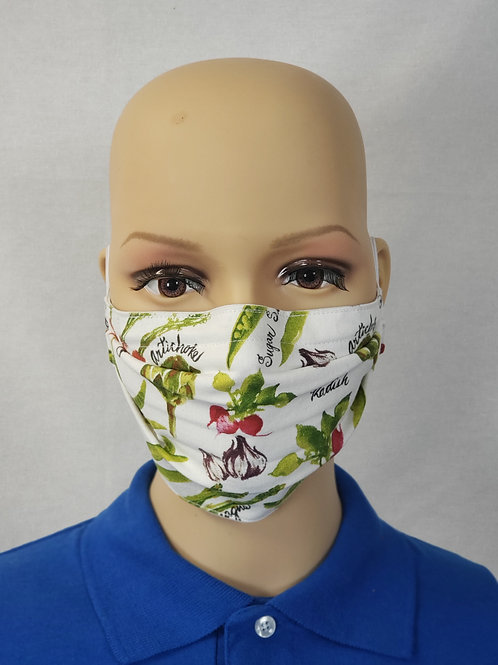 Veggies Cloth Face Covering