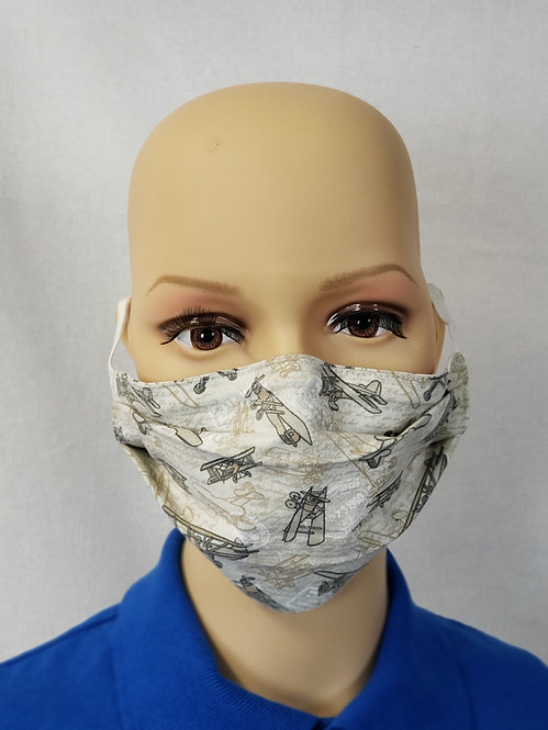 Vintage Planes Cloth Face Covering